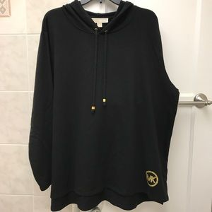 Michael Kors sweater with hood. 57%cotton 38%poly